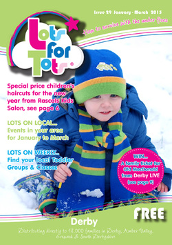 Lots for Tots Derby Issue 20 front cover